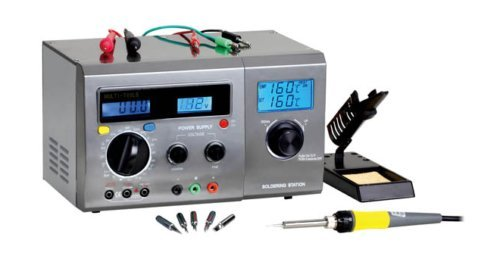 Zhongdi ZD-8901 Kombine 3 in 1 Digitale L/ötstation DC Netzteil Kompakt Multimeter