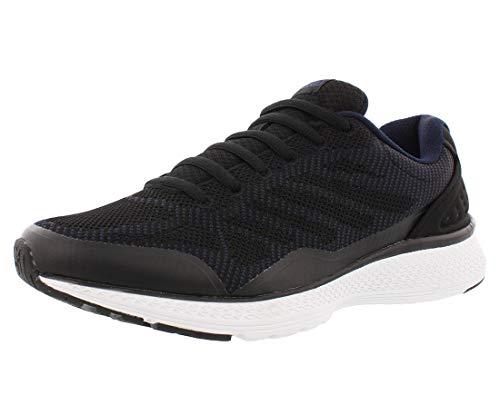 Fila Men's Memory Foam Athletic Running Shoes (11, Navy/Black) (Fila Weather Tech)