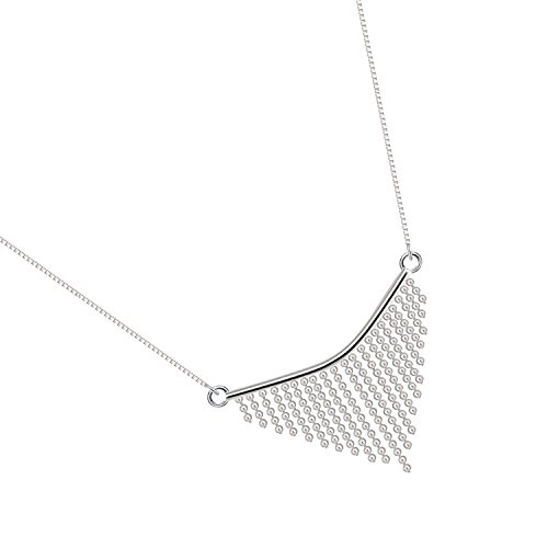 925 Silver Necklace, FenMing Choker Necklace