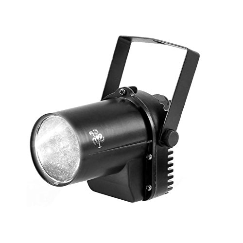 TSSS® 3W Weiß LED Bühnenbeleuchtung Scheinwerfer Wand-Strahlen Effekt LED Beleuchtung Licht Lampe