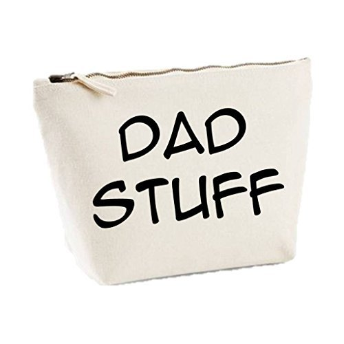 Dad Stuff Father¡¯s Day Statement Gift Idea Makeup Bag Wash Travel Make Up Bag Organizer Cosmetics Bag - Day Valentiens Ideas