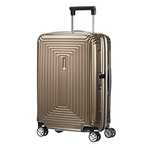 Samsonite Neopulse - Spinner S (Ancho: 20 cm) Equipaje de Mano, 55 cm, 38 L, Marrón (Metallic Sand)