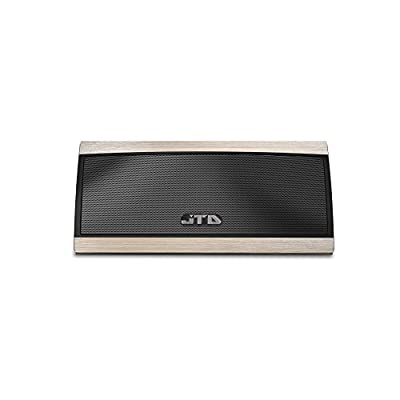 [Waterproof Speaker] JTD ® Armor Portable Bluetooth Speaker (Blue) 5W Strong Drive/Passive Radiator for Rich Immersive Sound, Waterproof Shockproof and Dustproof Outdoor/Shower/MP3/PC Speakers with Emergency Power Supply