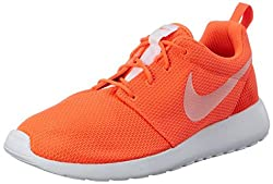Nike Womens Wmns Roshe One, Total Crimsonwhite, 9.5 Us