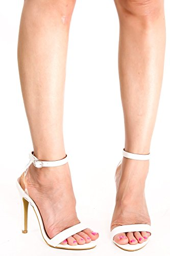 Lolli Couture Open Toe Cinturino Con Fibbia Alla Caviglia Suola Singola Nudesuede