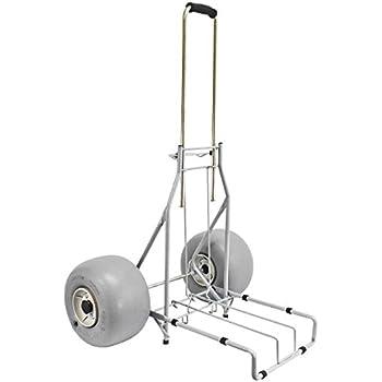 Amazon Com Folding Beach Cart By Wheeleez Rolling Caddy