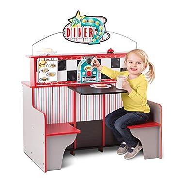 Melissa & Doug Star Diner Restaurant: Toys & Games