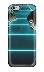 Durable Protector Case Cover With Tron Legacy Characters Man Woman Poster People Movie Hot Design For Iphone 6 Plus