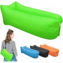 Outdoor blow up couch Camping blow up sofa