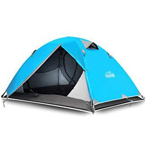 世代考古学者ピービッシュテント、屋外用品、ダブルキャンプテント、反雨、プロのキャンプ、登山用具テント (色 : A)
