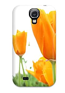 New Fashion Premium Tpu Case Cover For Galaxy S4 - Flower 1969477K53221797