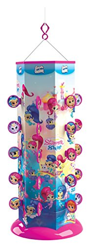 Goodie Gusher Reusable Party Piñata, Shimmer and Shine (String 3 Shimmer)