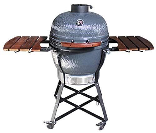Super grills Parrilla de cerámica Kamado para Barbacoa, Horno ...