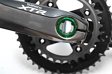 CNC Fahrrad Kurbelschraube Kurbelsatz Tretlager Innenlager für SHIMANO MTB Bike