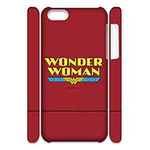 Iphone 5C 3D DIY Phone Back Case with Wonder Woman Image