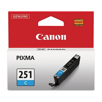 Canon - 6514B001 (CLI-251) Ink, Cyan by Canon
