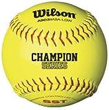 Wilson A9131ASA Series Softball (12-Pack), 12-Inch, Optic Yellow