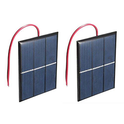 41fJqNbCB4L - TOOGOO(R) 2 pcs 1.5V 400mA 80x60mm Micro-Mini Power Solar Cells For Solar Panels - DIY Projects - Toys - Battery Charger