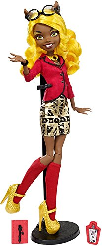 Monster High Frights, Camera, Action! Clawdia Wolf Doll