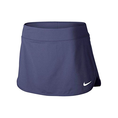 Nike Domstol Rene Womens Tennis Skjørt Blå Tilbakekalling / Hvit