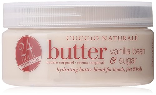 Cuccio Body Butter Blend, Vanilla Bean and Sugar, 8 Ounce - Vanilla Body Butter