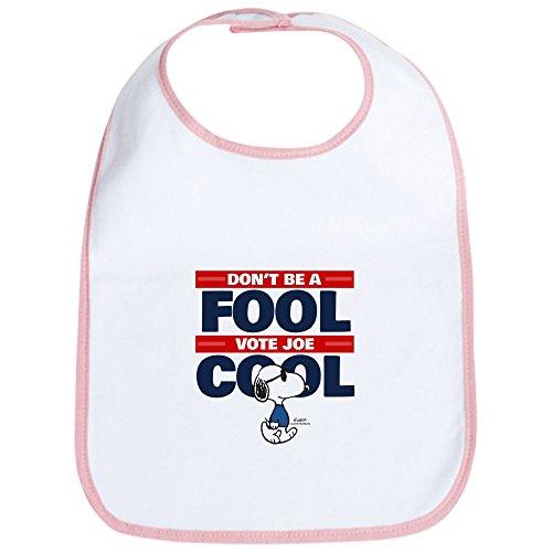 CafePress - Vote Joe Cool Bib - Cute Cloth Baby Bib, Toddler Bib