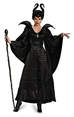 Disguise Women's Disney Maleficent Christening Gown Costume - Black