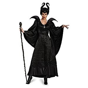 Disney Disguise Women's Maleficent Black Christening Gown Costume