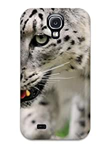 For Galaxy S4 Case Protective Case For Snow Leopard Case
