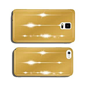 Set of Vector glowing light effect stars with sparkles cell phone cover case iPhone6
