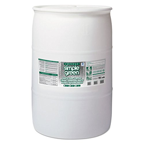 Simple Green 19055 Crystal Industrial Cleaner/Degreaser, 55gal Drum from SIMPLE GREEN