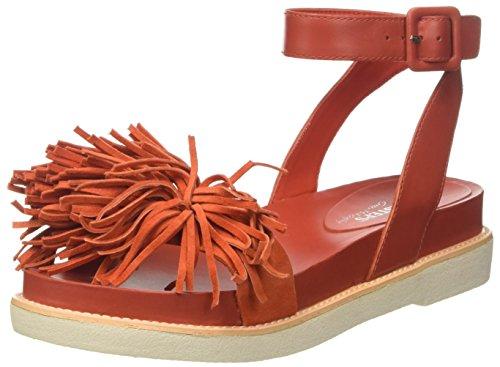 Docksteps Damen Nenana Sandalen Rot (Coral)