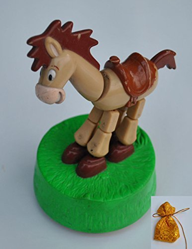 Price comparison product image Disney Toy Story 2 Happy Meal Toy Bullseye Cowboy Woody's Horse Thumb Toy Figure Promoted in Thailand 1999 Rare Collectible