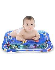 BOIROS Wassermatte Baby, Spielmatte Aufblasbare Wasserspielmatte Aktivitätscenter Bauchzeit Für Kinder, Baby, Kleinkinder