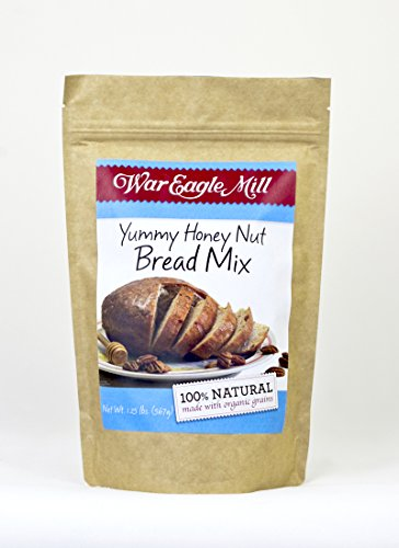 War Eagle Mill Yummy Honey Nut Bread Mix in a resealable bag (1.25 lbs)