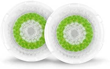 Clarisonic Acne Facial Cleansing Brush Head Replacement, Two Pack