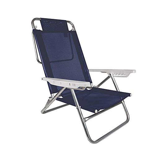 Cadeira Reclinável Mor Summer Azul Royal