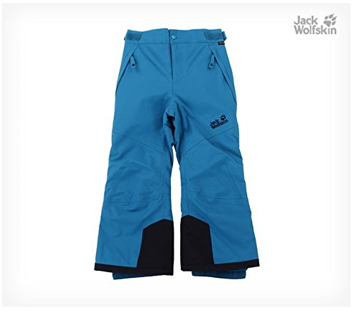 Jack Wolfskin Snow Ride Texapore Insulated Kids Pants (116(5-6 Years Old), Blue(dark turquoise)) by Jack Wolfskin Kids (Image #1)