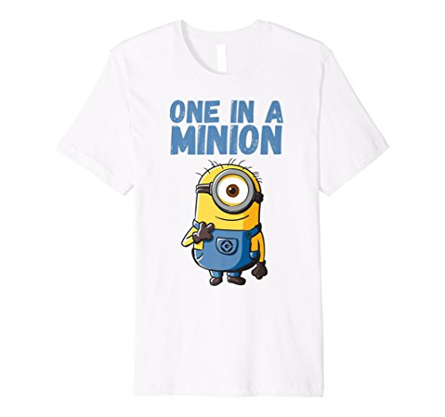 Despicable Me Minions Stuart One In A Minion Premium T-Shirt -