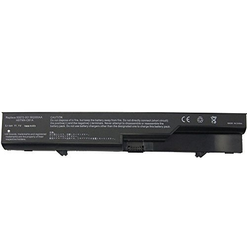 Bay Valley Parts 9-Cell 11.1V 7800mAh New Replacement Laptop Battery for HP Compaq 320,Compaq 321,Compaq 325,Compaq 326,Compaq 420,Compaq 421,Compaq 425,Compaq 525,Compaq 620,Compaq 621,Compaq 625 HP: HP 420,HP 421,HP 425,HP 4320t,HP 620,HP 625,ProBook 43 by Bay Valley Parts