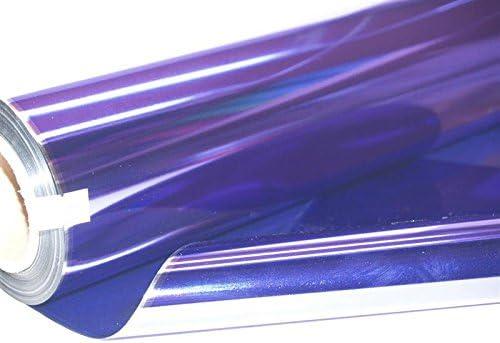 20m Metallic Cellophane Roll Purple 1860-20