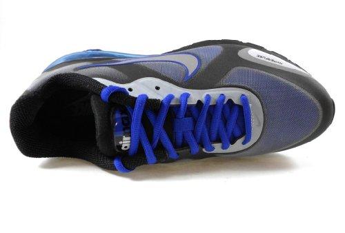 Scarpe Da Corsa Nike Air Max Alpha 2011+ Uomo [454347-401] Scarpe Da Uomo Blu Argento / Metallizzato Color Argento 454347-401 Blu Foderato / Argento Metallizzato-nero