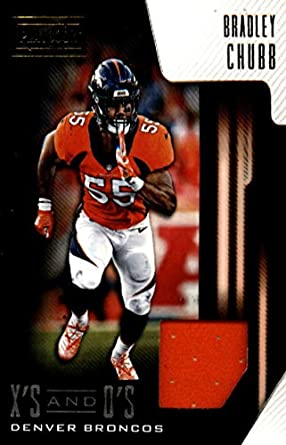 e8adf1ec8bc 2018 Playbook Xs and Os Jerseys Football #7 Bradley Chubb Jersey/Relic  Denver Broncos