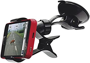 Soporte ventosa coche parabrisas para teléfono móvil smartphone Bq ...