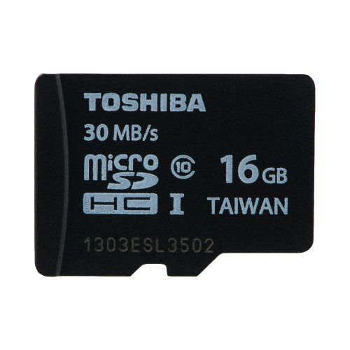 Toshiba 16GB Micro SD SDHC UHS-I Class 10 memory card 30MB/S by GadgetCenter