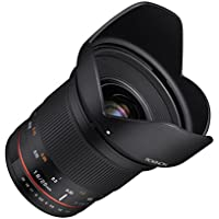 Rokinon 20mm f/1.8 AS ED UMC Wide Angle Lens for Fuji X Mount Interchangeable Lens Cameras