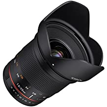 Rokinon 20mm f/1.8 AS ED UMC Wide Angle Lens for Micro Four Thirds Mount Interchangeable Lens Cameras