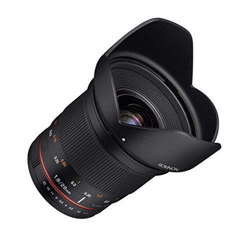 Rokinon 20mm f/1.8 AS ED UMC Wide Angle Lens for Sony E-Mount