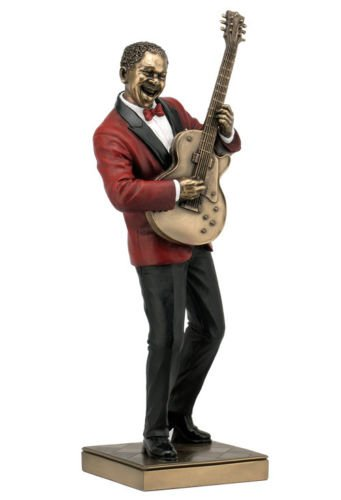 Guitar Player Statue Sculpture Figurine - Jazz Band Collection