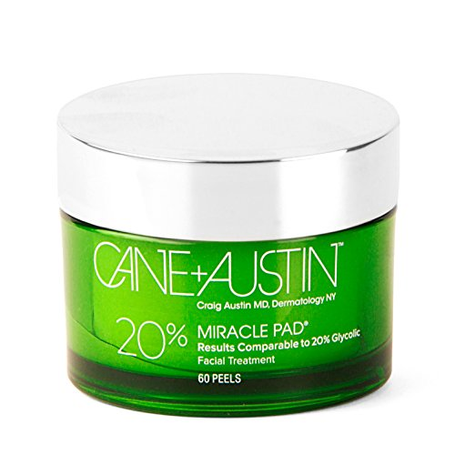 CANE + AUSTIN Miracle Pad, 20% Glycolic Equivalent Facial Peel Pads
